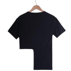 Beach Girl Kadın Siyah T-shirt - Thumbnail