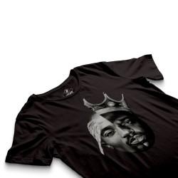 HH - 2pac & Biggie Siyah T-shirt - Thumbnail