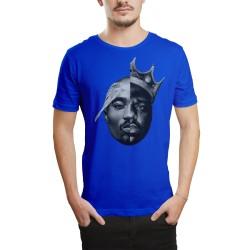 HH - 2pac & Biggie Mavi T-shirt - Thumbnail