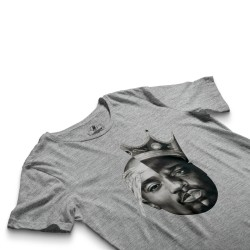 HH - 2pac & Biggie Gri T-shirt - Thumbnail