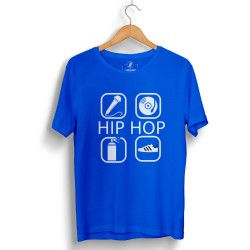 Groove Street - HH - Groove Street 4 icon HipHop Mavi T-shirt