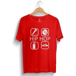 Groove Street - HH - Groove Street 4 icon HipHop Kırmızı T-shirt