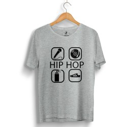 Groove Street - HH - Groove Street 4 icon HipHop Gri T-shirt