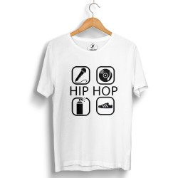 Groove Street - HH - Groove Street 4 icon HipHop Beyaz T-shirt