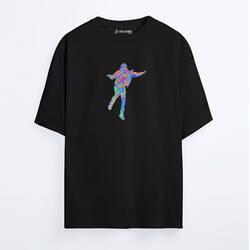 6ix9ine - Marble Oversize T-shirt - Thumbnail