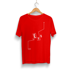 HH - Levo Logo Kırmızı T-shirt