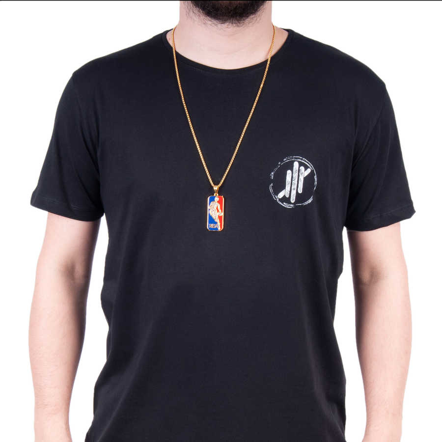 NBA Gold Kolye - XL