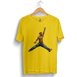 HollyHood - HollyHood - Air Tupac Sarı T-shirt