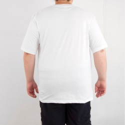 Bant Giyim - Alien Cosmos 4XL Beyaz T-shirt - Thumbnail