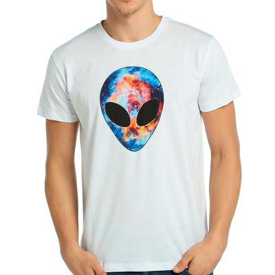Bant Giyim - Bant Giyim - Alien Cosmos Beyaz T-shirt