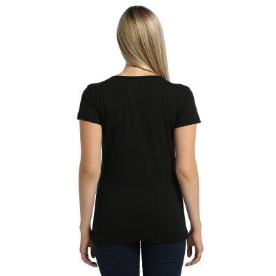 Bant Giyim - Alien Cosmos Kadın Siyah T-shirt