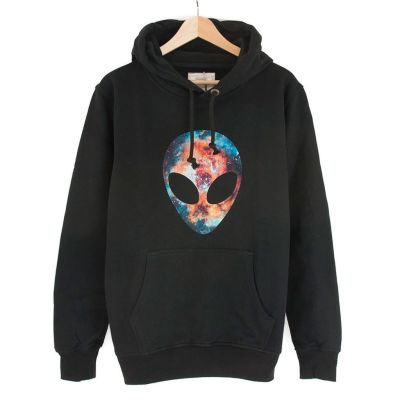Bant Giyim - Alien Cosmos Siyah Hoodie
