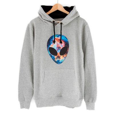 Bant Giyim - Alien Cosmos Gri Hoodie