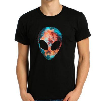 Bant Giyim - Alien Cosmos Siyah T-shirt