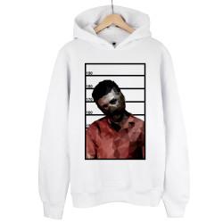 Allame - HH - Allame Hannibal Beyaz Cepsiz Hoodie (Fırsat Ürünü)