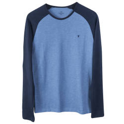 HollyHood - The Raglan Tee Mavi Sweatshirt