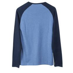 The Raglan Tee Mavi Sweatshirt - Thumbnail