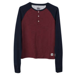 HollyHood - America Today Bordo Raglan Sweatshirt