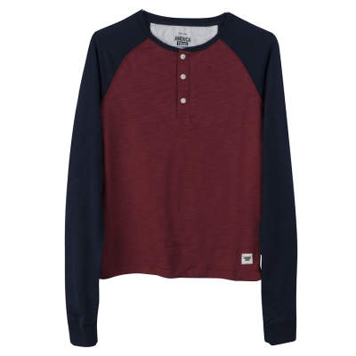 America Today Bordo Raglan Sweatshirt
