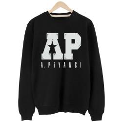 Anıl Piyancı - HH - Anıl Piyancı A.P. Siyah Sweatshirt