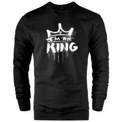 HH - Anıl Piyancı I Am The King Sweatshirt - Thumbnail