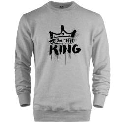 HH - Anıl Piyancı I Am The King Sweatshirt - Thumbnail