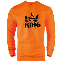 I Am The King Sweatshirt - Thumbnail