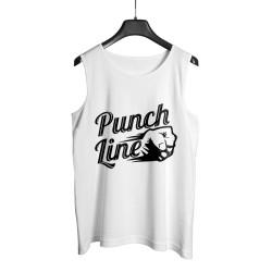 Anıl Piyancı - HollyHood - Anıl Piyancı Punch Line Beyaz Atlet