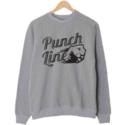 Anıl Piyancı - HH - Anıl Piyancı Punch Line Gri Sweatshirt
