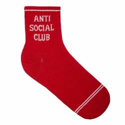 Anti Social Kırmızı Çorap - Thumbnail