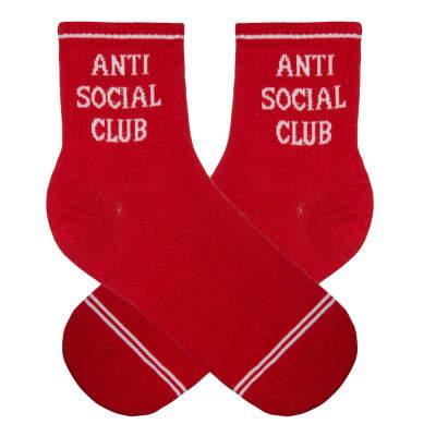 Anti Social Kırmızı Çorap