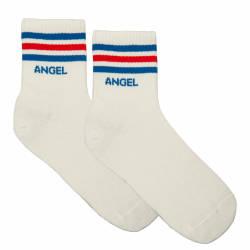 Angel Beyaz Çorap - Thumbnail