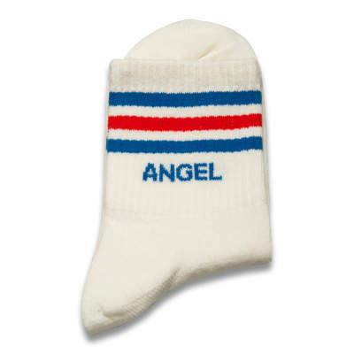 Angel Beyaz Çorap