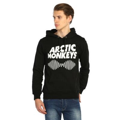 Bant Giyim - Arctic Monkey Siyah Hoodie