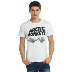 Bant Giyim - Arctic Monkeys Beyaz T-shirt - Thumbnail