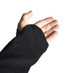 Ashes to Dust Siyah Long Fit Sweatshirt - Thumbnail