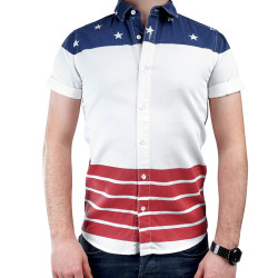 HollyHood - Asos U.S Flag Gömlek