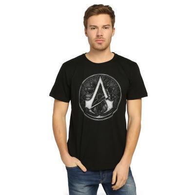 Bant Giyim - Assassin's Creed Siyah T-shirt