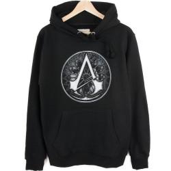 Bant Giyim - Assassin's Creed Siyah Hoodie - Thumbnail