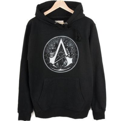 Bant Giyim - Assassin's Creed Siyah Hoodie