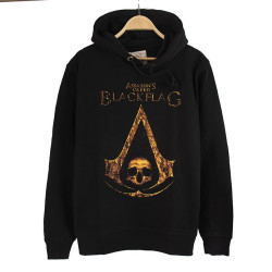 Bant Giyim - Assassin's Creed (Style 2) Siyah Hoodie - Thumbnail