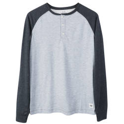 America Today Gri Raglan Sweatshirt - Thumbnail
