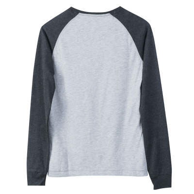 America Today Gri Raglan Sweatshirt