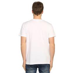 Bant Giyim - Avcının Sevdası Bukalemun Beyaz T-shirt - Thumbnail