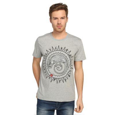 Bant Giyim - Avcının Sevdası Bukalemun Gri T-shirt