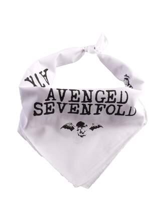 HH - Avenged Sevenfold Beyaz Bandana