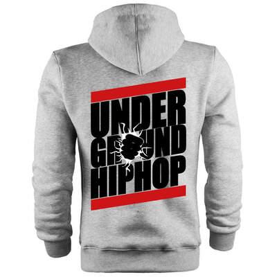 Outlet - Back Off Under Ground HipHop Cepli Hoodie (Değişim ve İade Yoktur)
