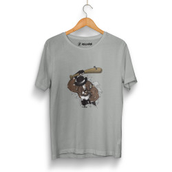 High - HH - High Bandit Dog Gri T-shirt