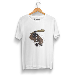 High - HH - High Bandit Dog Beyaz T-shirt