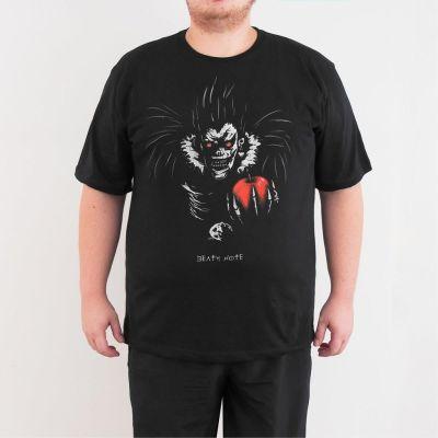 Bant Giyim - Death Note 4XL Siyah T-shirt